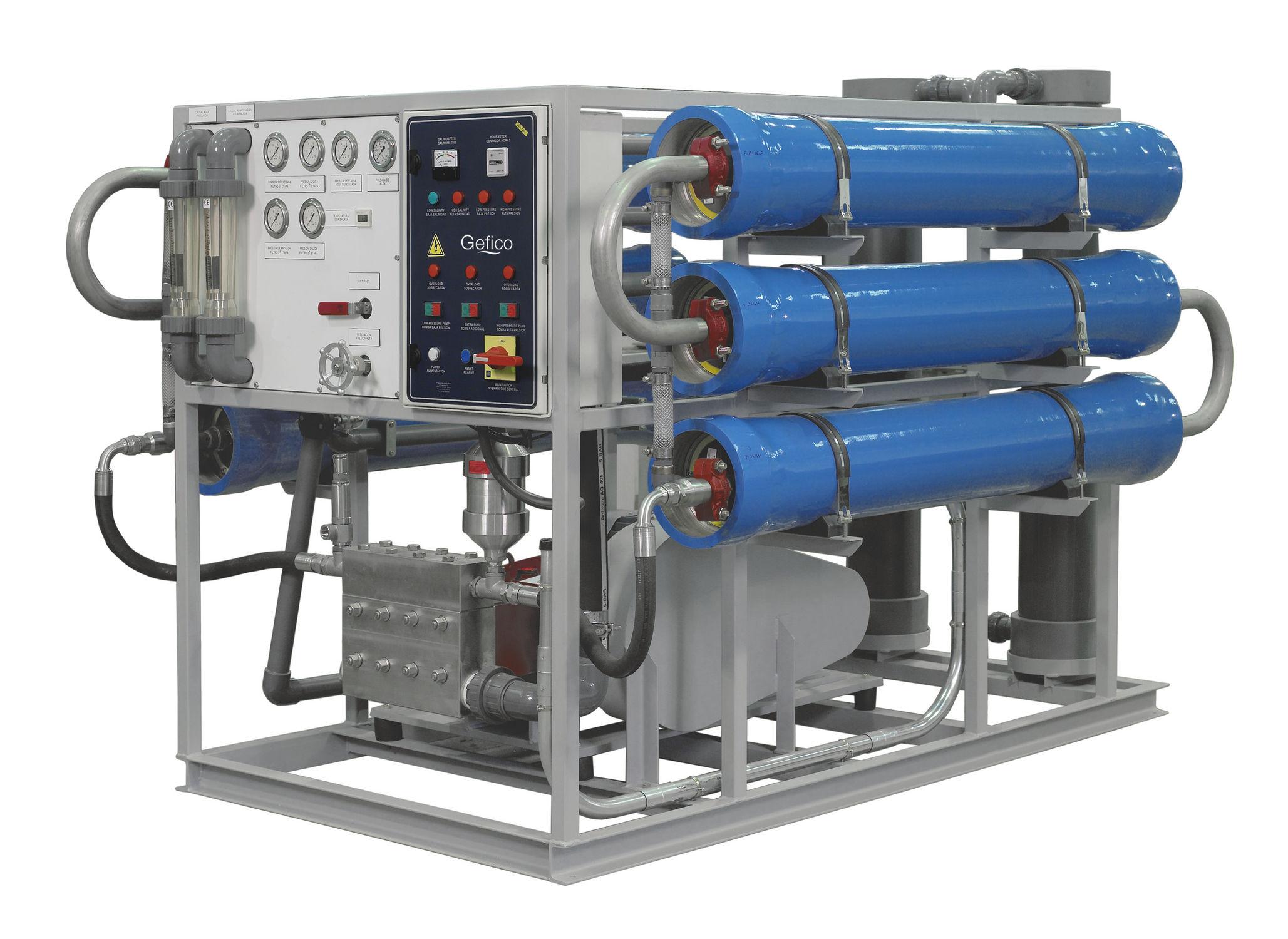 Marine shipboard Reverse Osmosis system - DieselShip