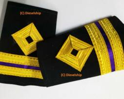 Third engineer epaulette