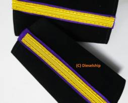 Fifth Engineer Epaulette for Trainee marine engineer-5/E