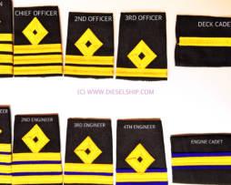 Marine Merchant Navy Epaulettes