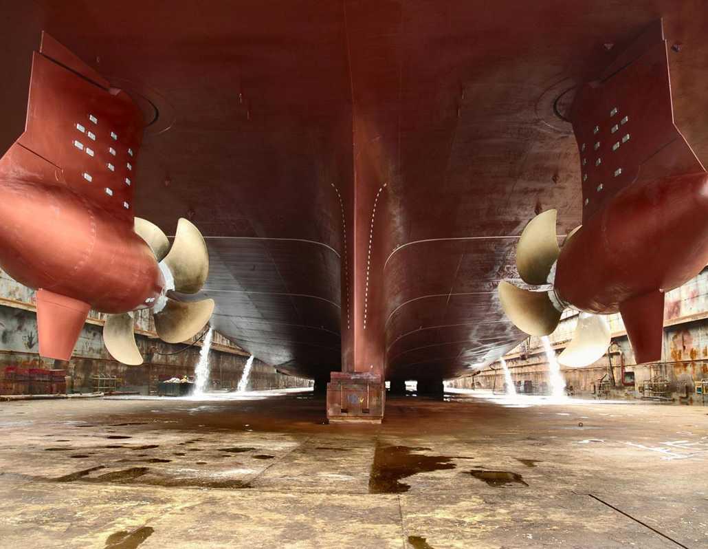 Dry dock inspection