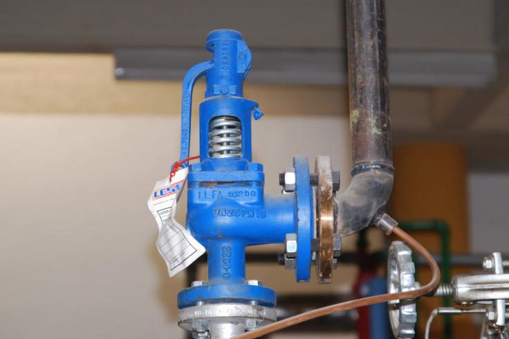 Boiler easing gear