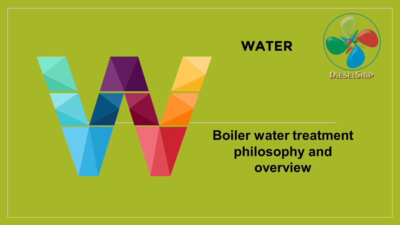 Boiler water treatment philosophy and overview