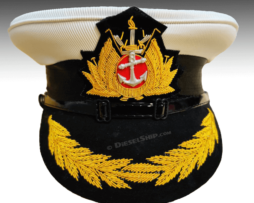 Merchant Navy peak cap for Master and Chief engineer