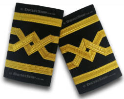 Ship captain epaulette